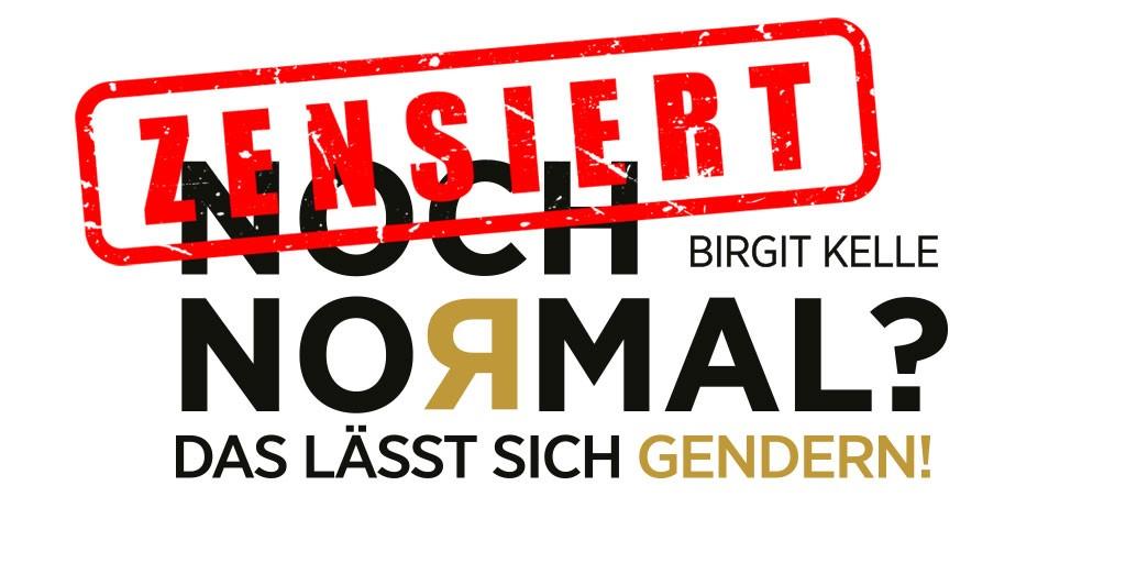 """Spotify zensiert Podcast mit Birgit Kelle zu Buch """"NOCH NORMAL? – Das lässt sich gendern!"""""""